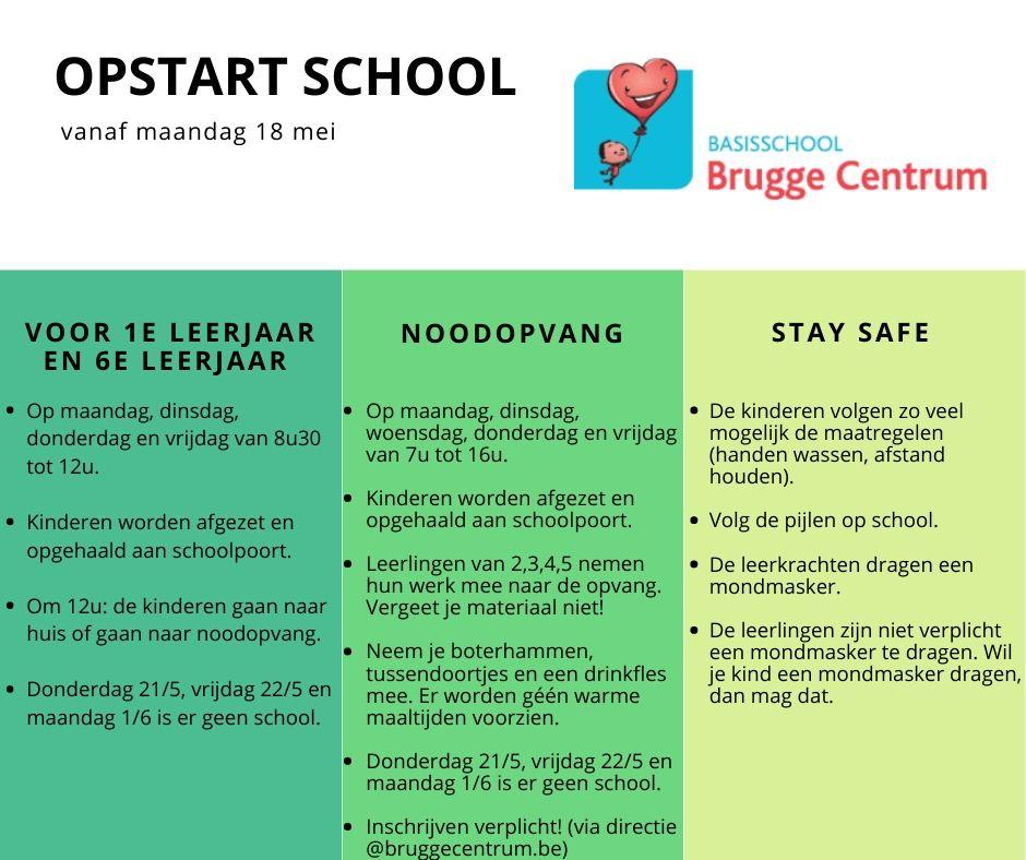 Opstart school